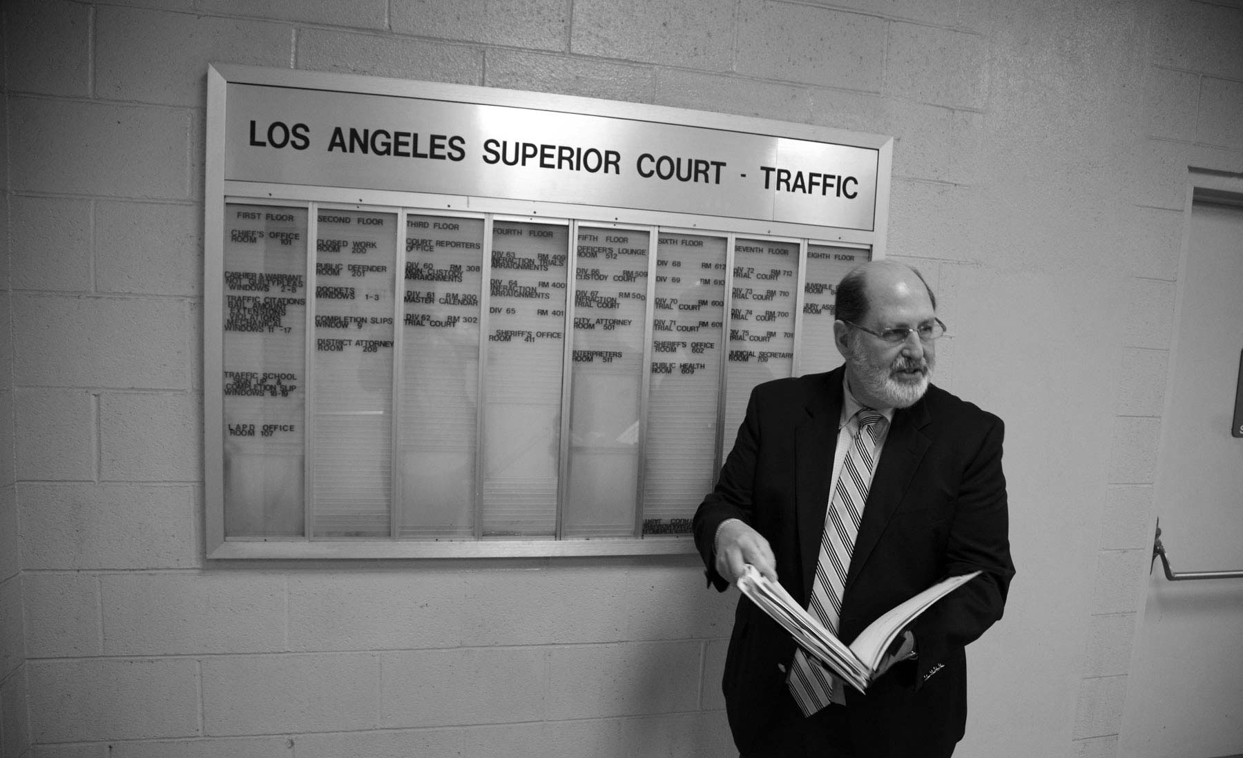 Richard Chaskin at Los Angeles Traffic Court